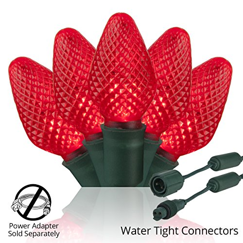 C7 Red Led Christmas Lights in US - 2
