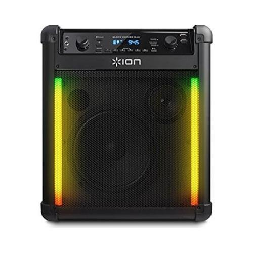 ION Block Rocker Max Bluetooth Speaker, Black (Certified - The Rocker Party