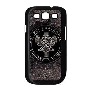 Chi Psi Grey Distressed Samsung Galaxy S3 9300 Cell Phone Case Black NiceGift pjz0035096663