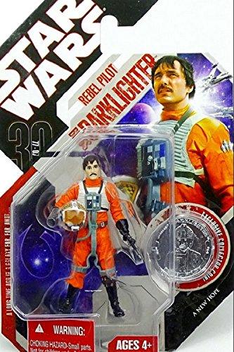 Star Wars 30th Anniversary Coin - Star Wars 30th Anniversary BIGGS DARKLIGHTER with Plastic Collector Coin