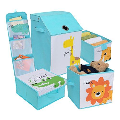 Redmon for Kids Safari Storage Organizers, Baby - Redmon Rectangular Hamper