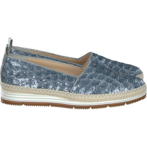 Green Mocassini Donna Paul Metallico blu pawxq