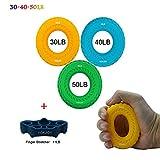 YOKJOY Finger exerciser,Hand Grip Strengthener,Enhance Hand-Forearm strength&Injury Rehabilitation,Relieve Wrist Pain,Carpal tunnel,Trigger Finger,Mallet Finger and more.