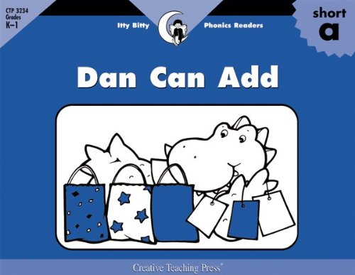 Read Online Dan Can Add, Itty Bitty Phonics Reader (Itty-bitty Phonics Readers) pdf epub