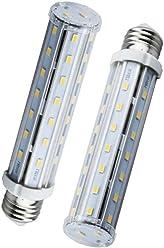 E27 ES Edison Screw Light Bulbs Bonlux 12W E27 LED Corn Bulb 80W 100W Warm 12W