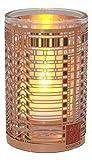 Ebros Gift Frank Lloyd Wright FLW Architecture Reproduction Votive Candle Holder Figurine Tea Light Decor 3.25'' H (Darwin D. Martin House 1st Floor Casement Window)