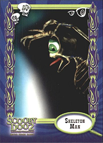2004 Scooby Doo 2 Monsters Unleashed #24 Skeleton Man (Scooby Doo 2 Monsters Unleashed Monsters Cards)