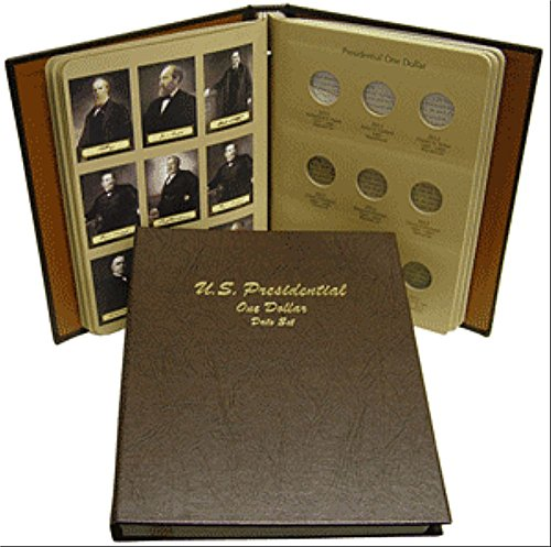 Us Presidents Dollar Coins - Dansco US Presidential Dollar Date Set 2007 - 2016 Coin Album #7186
