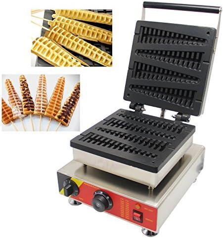 Cgoldenwall Np-501 4 pcs Commercial Waffle grille-pain gaufrier No-stick Waffle Baker machine à Gaufres gaufrier machine 220 V Certification CE