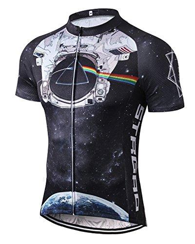 MR Strgao Men's Cycling Jersey Bike Short Sleeve Shirt
