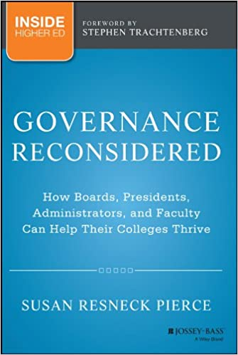 Governance And the Public Good (S U N Y Series, Frontiers in Education)
