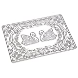 human figure stencil - Michelle Dore Swan Design Stencils Carbon Steel Cutting Dies Stencil for DIY Scrapbooking Paper Card Album Embossing Metal Craft Template