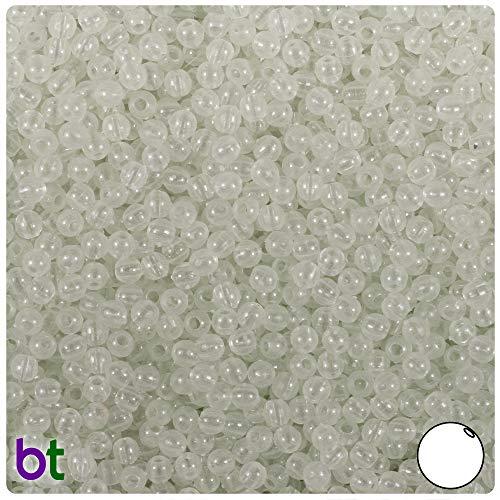 BeadTin Night Glow-in-The-Dark 4mm Round Craft Beads (1000pcs)