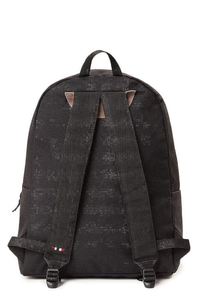 Napapijri Mens Voyage1n0ygos Black Polyester Backpack