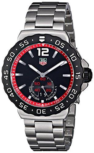 Tag Heuer Men's WAU1114.BA0858 Formula 1 Black Dial Dress Watch