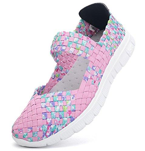 Pink SH075 Zapatillas 599 para AIRAVATA Mujer I8H8pR