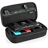 UGREEN Carry Case Compatible for Nintendo Switch, Shockproof Protective Hard Travel Case Bag for Nintendo Switch Console, Wall Charger, Grip and Joy-con, Game Cards, Cables and More Accessories