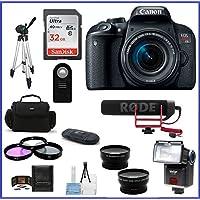 Câmera Canon DSLR EOS Rebel T7i kit Lente 18-135mm