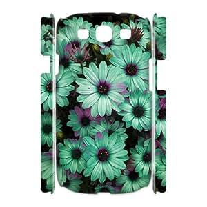 Diy Flower 3D Phone Case, DIY Hard Back Cover Case for Samsung Galaxy S3 I9300 Flower