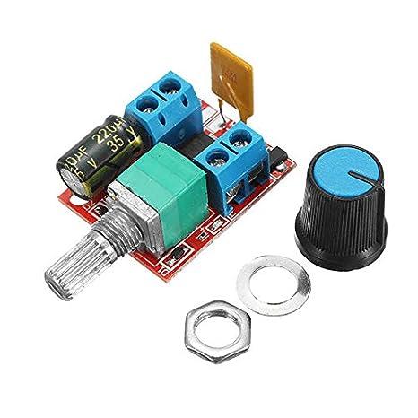 10Pcs 5V-30V PWM Speed Controller Mini Electrical Motor Control