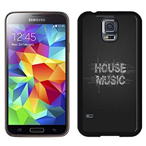 NEW DIY Unique Designed Samsung Galaxy S5 I9600 Phone Case For House Music Phone Case Cover