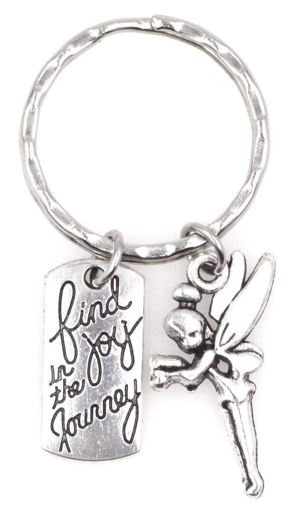 Find Joy in The Journey Pixie Fairy Keychain 113E