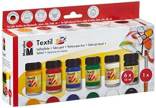 Marabu 171600087 - Textil Starter Set
