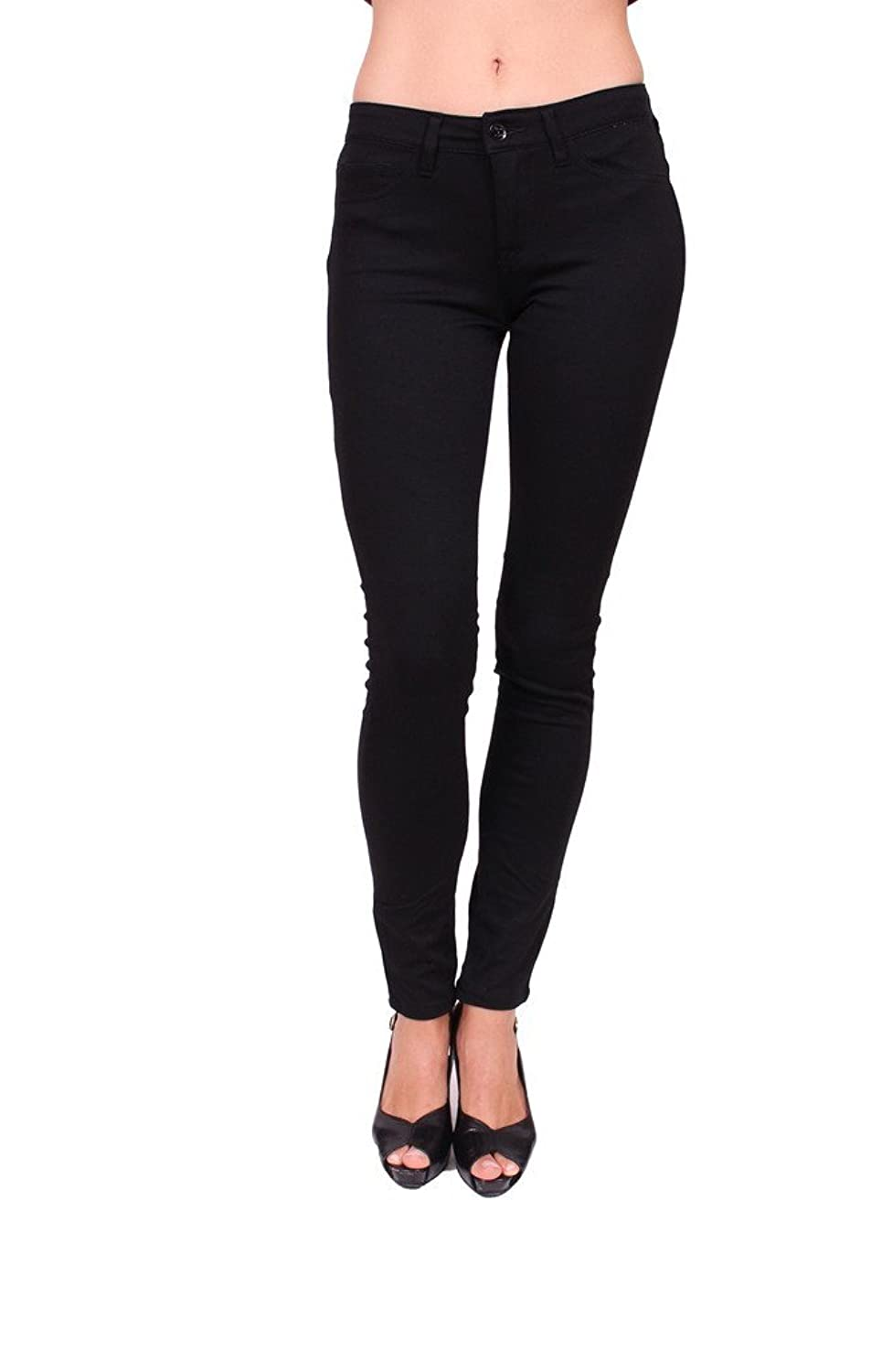 Flying Monkey Jeans Women Black Skinny Ponte Pants 70%OFF ...
