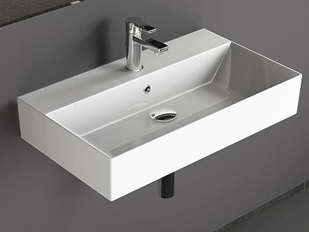 Aqua Bagno KS. 70 Design Wash Basin/Counter Top Basin 70x42 cm ...