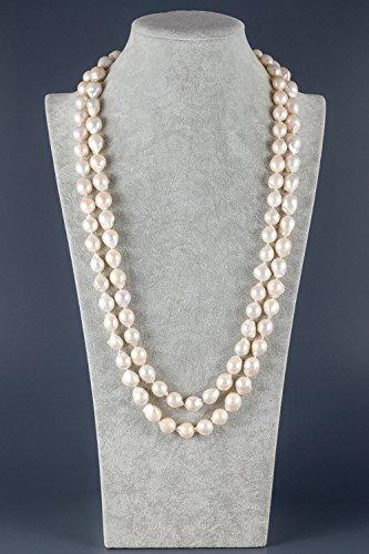 Queen-Collier Sautoir de Perles Baroques