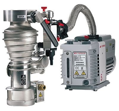 Edwards Direct-Drive Rotary Vane Vacuum Pump, Dual Mode, 3.5 cfm, 115/220 VAC - Edwards Rotary Pump