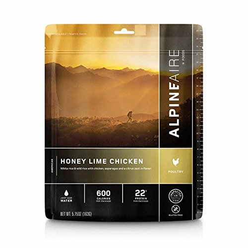 Natural High Freeze Dried Honey Lime Chicken ()