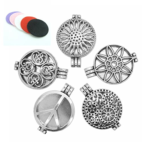 5pcs-Mix-Style-30mm-Tibetan-Silver-Locket-Essential-Oil-Aromatherapy-Diffuser-Pendant-Charms-Necklace