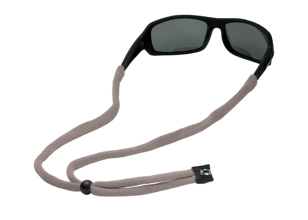 Chums Original Cotton Small End Eyewear Retainer, Gray by Chums