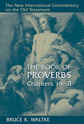 Proverbs Chapters International Commentary Testament ebook