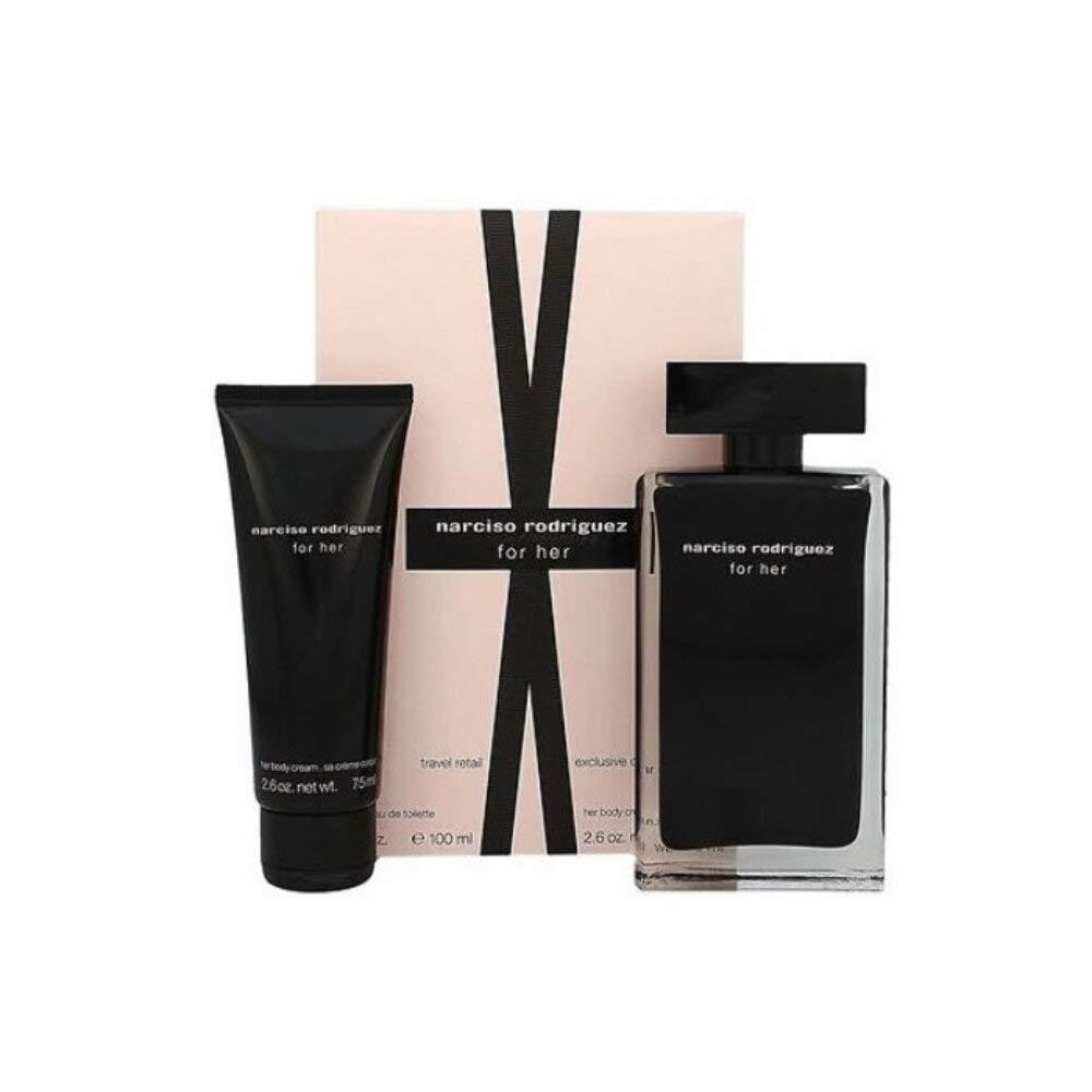 Narciso Rodriguez Narciso Rodriguez For Her Gift Set 3.4oz (100ml) EDT + 2.5oz (75ml) Body Cream