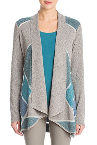 Nic+Zoe - Sheer Sight Cardy - Multi - XL