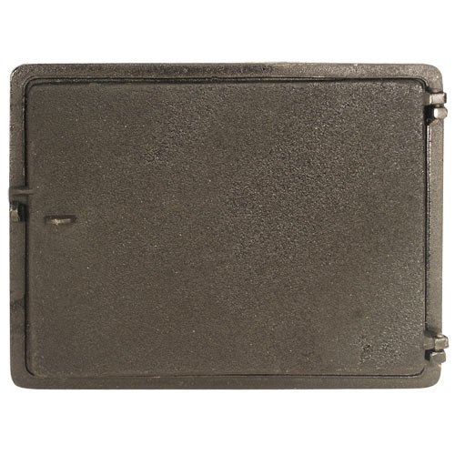 Mutual Industries 29-008 Cast Iron Clean Out Door, 16'' x 12'' by Mutual Industries