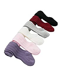 Baby Toddler Girls Leggings Infant Cable Knit Cotton Tights Stockings Panties
