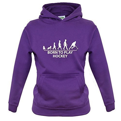 Born to play Hockey - Infantil / Sudadera Infantil - 7 Colores - Edad 1-
