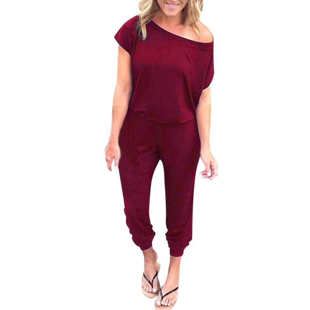Women American Flag Print Rompers Sexy Sleeveless Comfort Elastic Waist Pockets Casual Fashion Playsuit Jumpsuit Daorokanduhp