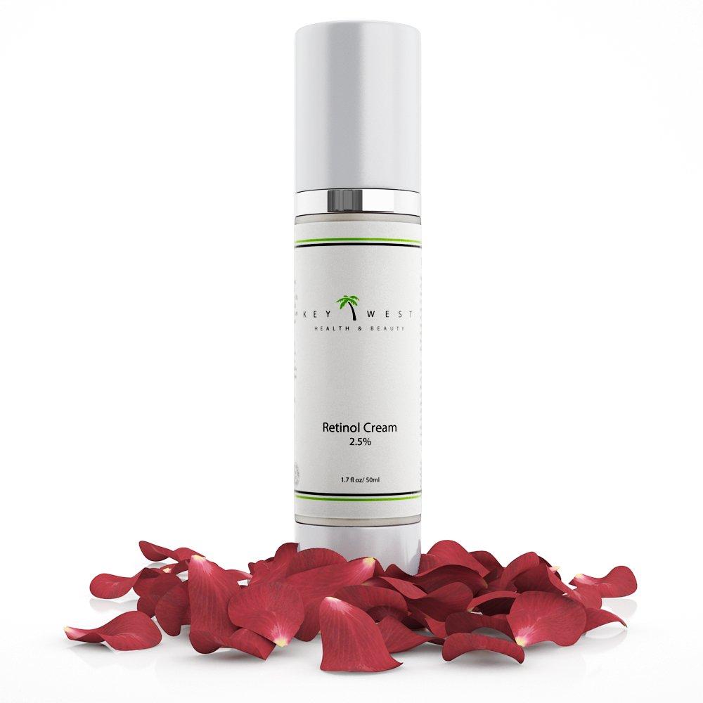 2.5% Retinol Night Cream with Hyaluronic Acid Serum - 97% Natural