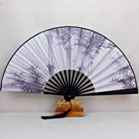 Fan Japanese-style Folding fan Chinese style classical gift Mens handcrafted gift antiquity Folding fan bamboo bamboo