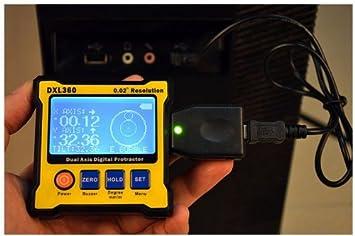 Amazon.com: dxl360 Digital Protractor InClinometer Caja de ...