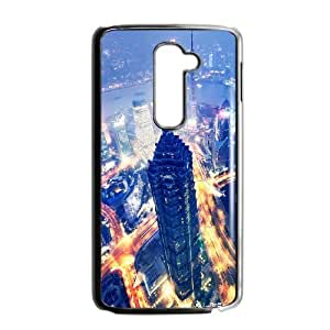 New Style City Lights Image Phone Case For LG G2