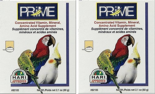 Hagen Living World Prime Powder, 60-Grams Each (2 Pack)