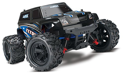Traxxas 1 18 LaTrax Teton 4X4 Electric Monster Truck with TQ 2.4GHz Radio - Blue