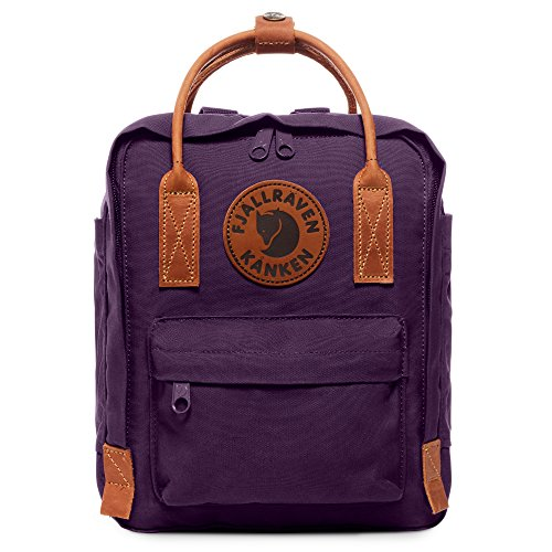 Fjallraven - Kanken No. 2 Mini Backpack for Everyday Use and Travel, Alpine Purple ()