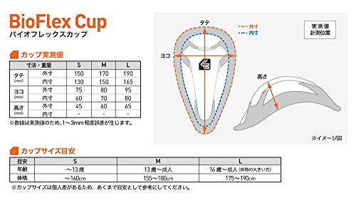 Shock Doctor BioFlex Athletic Cup, Adult & Youth