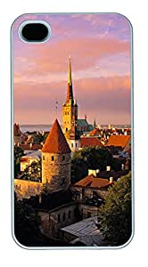 iPhone 4 4s Cases & Covers - Munich City 02 Custom PC Soft Case Cover Protector for iPhone 4 4s - White